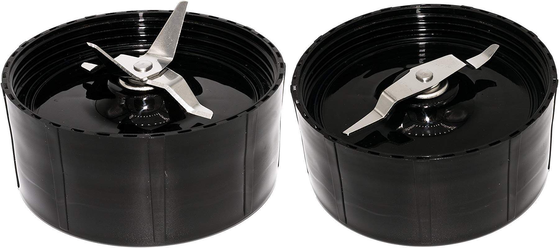 Blendin Replacement Cross And Flat Blades Compatible With Magic Bullet MB1001 Blenders