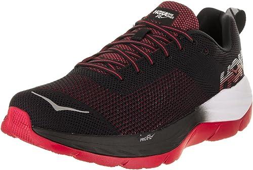 HOKA One One Mach - Hauszapatos de Running para Hombre, Multi (negro blanco), 44.5 EU