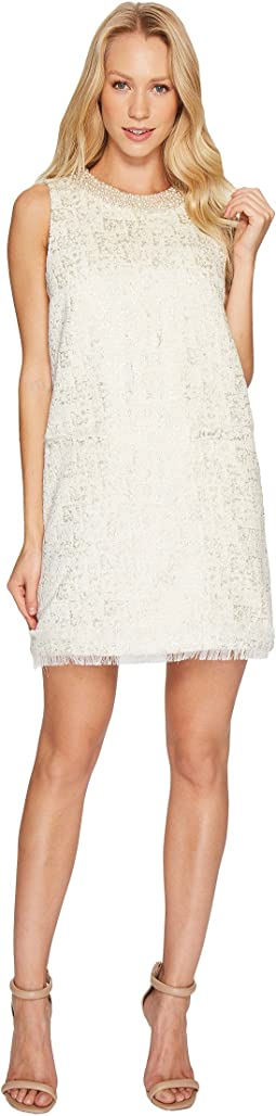 Metallic Boucle Spencer Dress