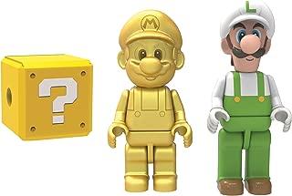 K'NEX 38867 Golden Mario and Fire Luigi Mystery Figures