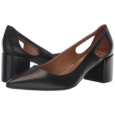French Sole Courtney2 Heel (Black Nappa) Women