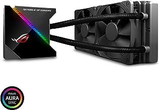 Asus ROG RYUJIN 240 RGB AIO Liquid CPU Cooler 240mm Radiator (Dual 120mm 4-Pin Noctua Ippc PWM Fans) with Livedash OLED Pa...