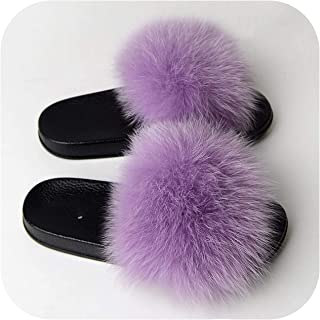 plage 2019 Furry Slippers Cute Beach Slide Size 36 45 Happy Feet Happy Client Furry Slide