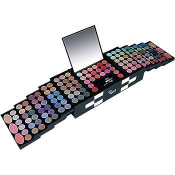 Gloss - caja de maquillaje, caja de regalo para mujeres - Paleta Maquillaje - Profesionales - 151 piezas: Amazon.es: Belleza