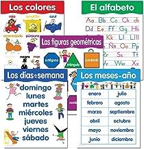 Creative Teaching Press Spanish Basic Skills, 5-Chart Pack (5792)