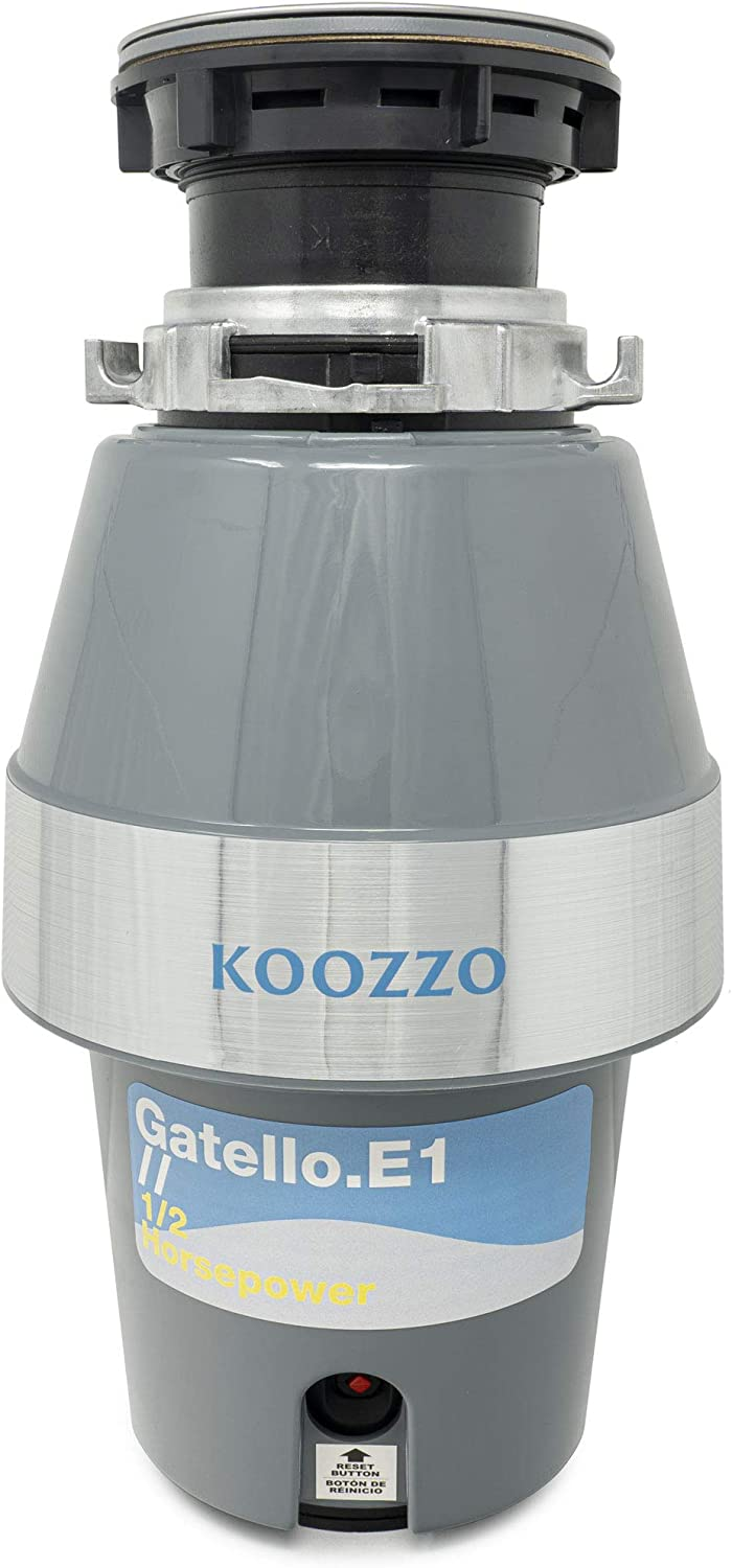Koozzo 40% OFF Cheap Sale High-Torque Garbage Disposal with Power Popular brand in the world Cont Cord 2 1 HP