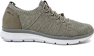 ENVAL SOFT 7218333 Sneakers Slipon Uomo Mesh Elasticizz Taupe Memory Foam