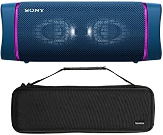 $149 » Sponsored Ad - Sony SRSXB33 Extra BASS Bluetooth Wireless Portable Speaker (Blue) with Knox Gear Hardshell Travel and Stor...