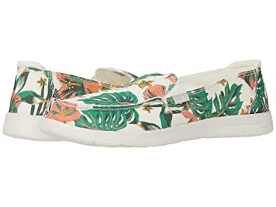 Sanuk Donna Lite Floral (White) Women