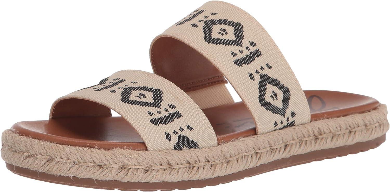 ZODIAC Women's Cali Slide Sandal, Birch Multi, 5
