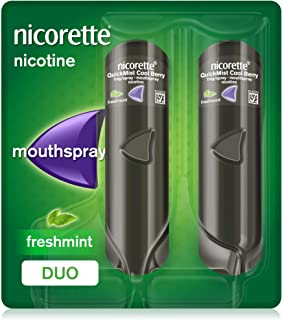 Nicorette QuickMist Mouth Spray, Freshmint Flavour,