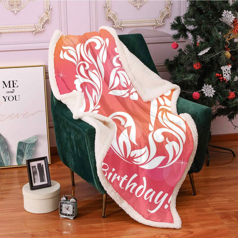 SeptSonne 15th Birthday Plush Blanket Ranking TOP14 Floral Girls online shop N Teen Themed