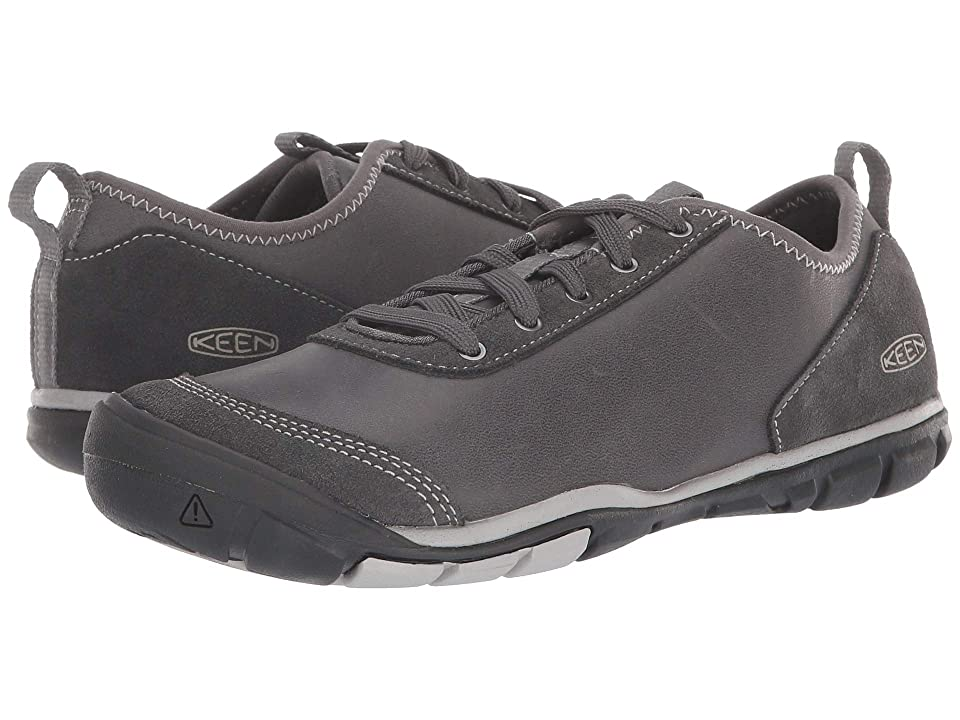 205b50a00e56 Keen Hush Leather (Steely) Women s Shoes