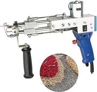 TZUTOGETHER Tufting Pistool, elektrisch tapijt, tufting Gun Loop Pile, vlokkenmachine voor tapijten, tapijtbuffelpistool, ...