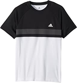 adidas Kids Club Color Block Tee (Little Kids/Big Kids)