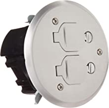 Lew Electric Round Floor Box Kit w/PBR-FPA Cover