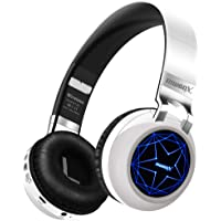 Riwbox WT-8S Over-Ear Bluetooth Foldable Wireless/Wired Headphones with Mic and TF-Card