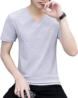 [SeBeliev(シービリーヴ)] 夏服 メンズ tシャツ 半袖 無地 カジュアル ファション カットソー 吸汗速乾 軽量 良質