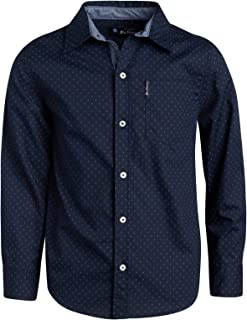 Best boys navy button up shirt Reviews