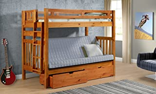 Amazon Com Futon Bunk Bed