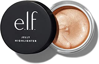 e.l.f., Jelly Highlighter, Smooth, Dewy, Versatile, Long Lasting, Illuminizing, Adds Glow, Blends Easily, Cloud - Rose Gol...