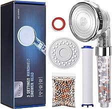 Baban Douchekop, drie watermodi filterhanddouche, waterdruk verhogen, uitgerust met een PP-katoen, een verpakking filterba...