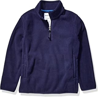 Amazon Essentials Boys Polar Fleece Quarter-Zip Pullover Jackets