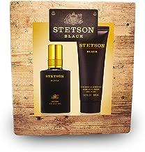 Stetson Black 2pc Set - 1.5oz Cologne Spray + 3.4oz Aftershave Balm with Aloe