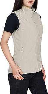 Outdoor Ventures Women's Zip Up Lightweight Soft Microfleece Vest Outerwear Casual Sleeveless Vest with Pockets