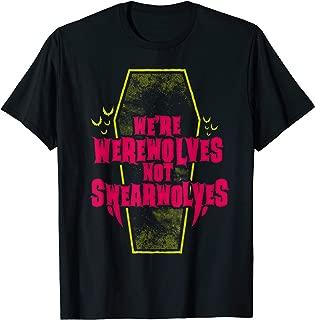 werewolves not swearwolves t shirt