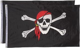 Jolly Roger Red Hat Flip Lighter