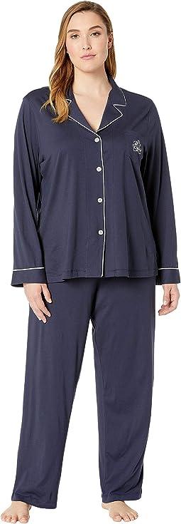 31a25a133 1. LAUREN Ralph Lauren. Hammond Knits Pajama Set ...