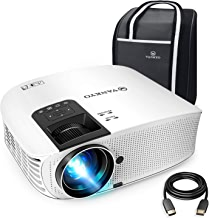 """VANKYO Leisure 510 Full HD Movie Projector with 4000 Lux, Video Projector with 200"""" Projection Size, Support 1080P HDMI VGA AV USB with HDMI Cable and Carrying Bag"""
