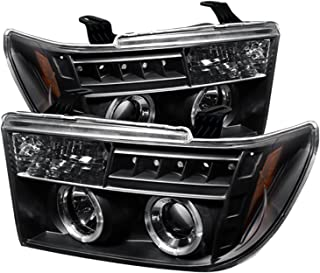 Spyder Auto Toyota Tundra Black Halogen Projector Headlight
