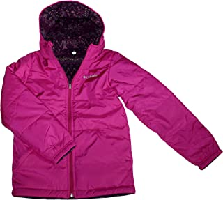 Columbia Youth Girls Ice Chips Reversible Hooded Jacket