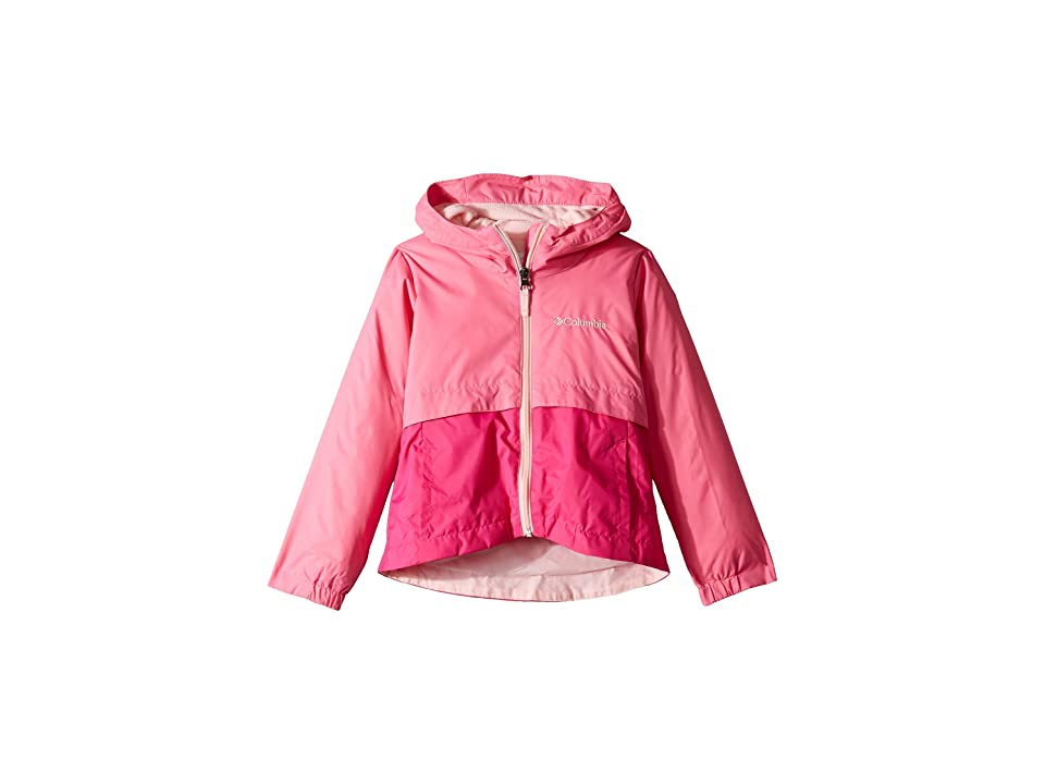 Columbia Kids Rain-Zillatm Jacket (Little Kids/Big Kids) (Wild Geranium/Haute Pink/Pink Lemonade) Girl