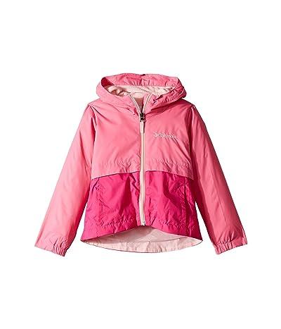 Columbia Kids Rain-Zillatm Jacket (Little Kids/Big Kids) (Wild Geranium/Haute Pink/Pink Lemonade) Girl