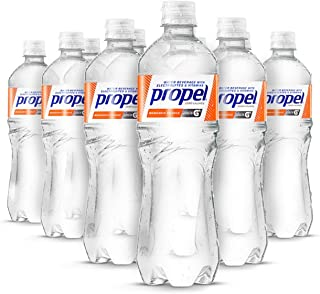 Propel, Mandarin Orange, Zero Calorie Water Beverage with Electrolytes & Vitamins C&E, 24 Fl Oz (Pack of 12)