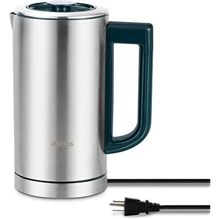 Coffee Maker Percolator 700ML/ 2 cup / Tea Maker - Stainless Steel Electric Kettle 1000 ML MG-T01A