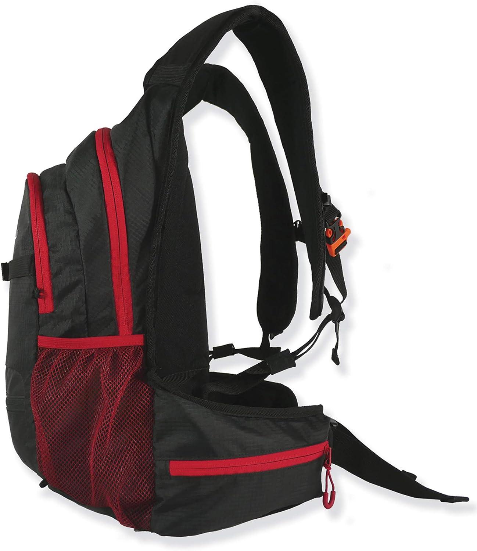 Sac /à dos unisexe 21 l en noir Sac /à dos de v/élo Sac /à dos de loisirs Blackend M21 Petit sac /à dos de randonn/ée l/éger Sac /à dos multifonction
