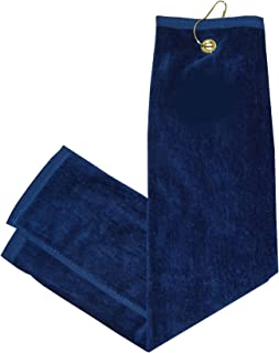 Tri-Fold Towel - Navy