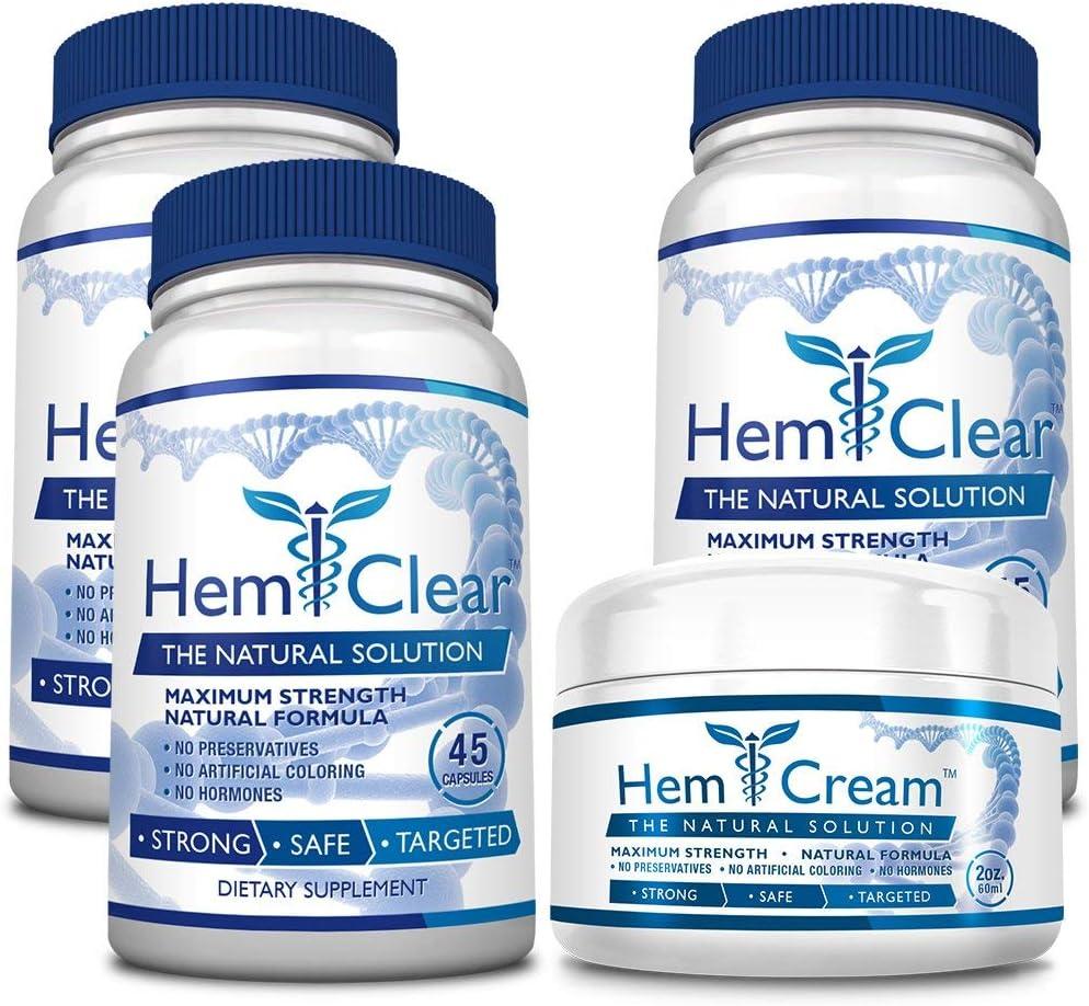 HemClear Cash special price for Hemorrhoids Super sale period limited - Vegan 100% Hemor Formula Natural