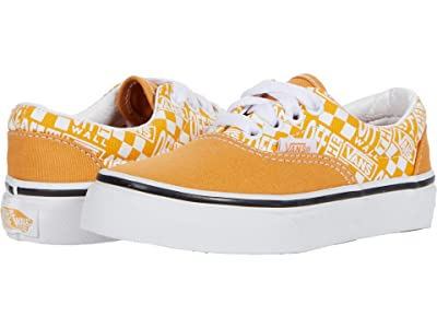 Vans Kids Era (Little Kid) ((Off The Wall) Golden Nugget/Saffron) Boys Shoes