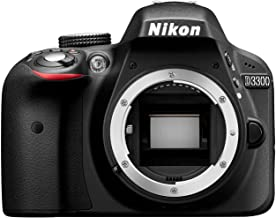 Nikon D3300 Digital SLR Camera Body Only - Black (24.2MP)...