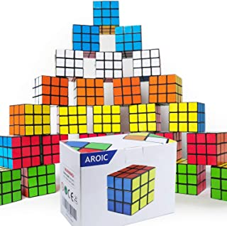 AROIC Mini Cube, Puzzle Party Toy,21pack, Eco-Friendly Material with Vivid Colors,Party Favor School Supplies Puzzle Game ...