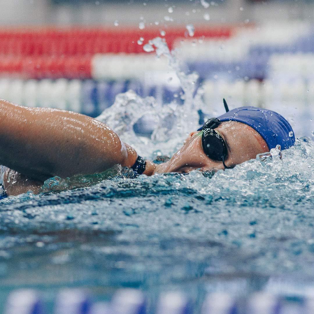 Polar OH1+ Bluetooth y ANT+. Sensor de pulso óptico resistente al agua con clip para gafas de natación y brazalete - Negro: Amazon.es: Deportes y aire libre