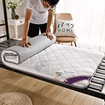 5D Knitted Cotton Mattress,Student Dormitory Printing Mattress Double-Sided Mattress Five-Layer Structure, Thicken 6Cm,No ...