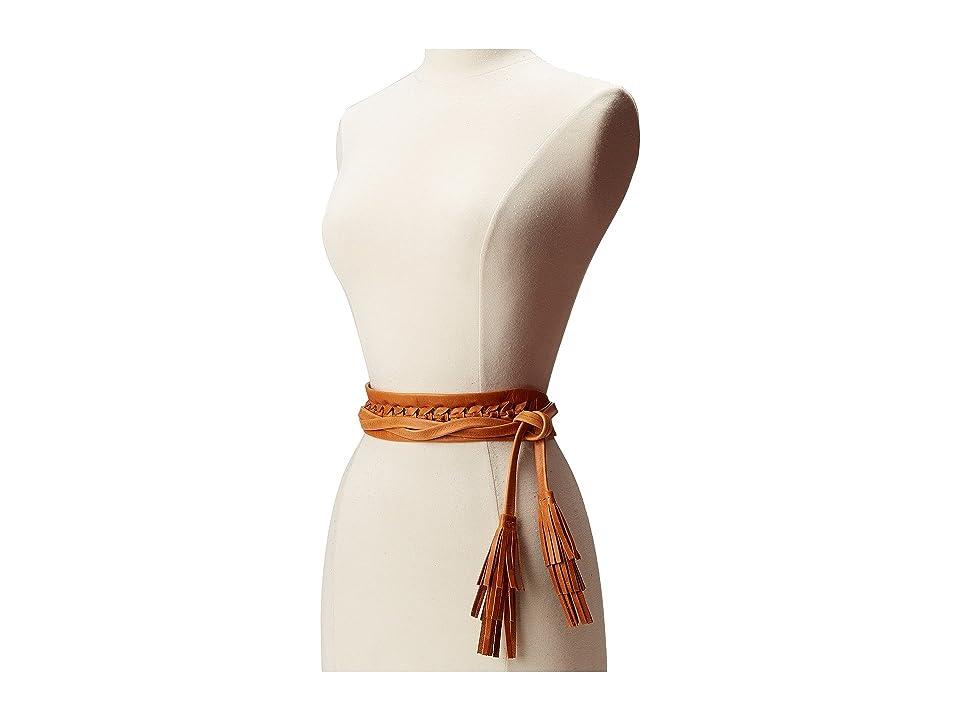 ADA Collection Ava Wrap Belt (Cognac) Women