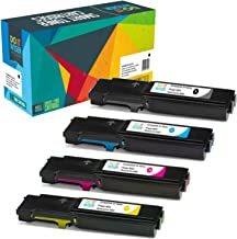 Do it Wiser Compatible Toner Cartridge Replacement for Xerox Phaser 6600, WorkCentre 6605 High Yield - 106R02228 106R02225 106R02226 106R02227 (4-Pack)