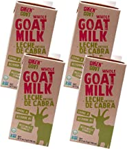 Green Goat Non-GMO Whole Goat Milk Aseptic Milk 32 fl OZ - 4 Pack